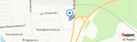 Траффик на карте Сургута
