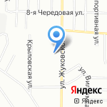 Магазин бытовой химии и парфюмерии на карте Омска
