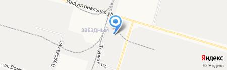 Белшина-Урал на карте Сургута