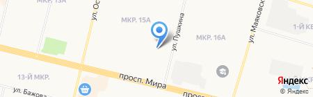 Beauty Lab на карте Сургута