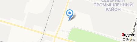 UDelivery на карте Сургута