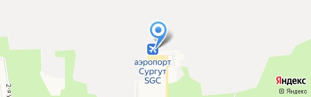 КСОП-Экспресс на карте Сургута