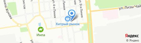 Инструментальная Лавка на карте Омска