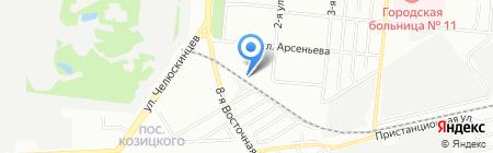 Голд на карте Омска