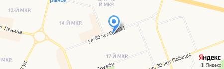 Машинописное бюро на карте Сургута