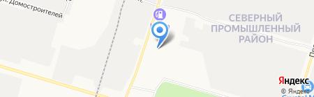 ОКСА на карте Сургута