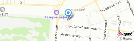 СК на карте Омска
