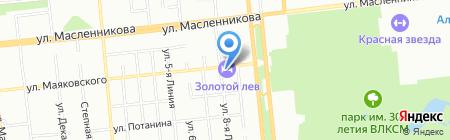Лидер ТУР на карте Омска