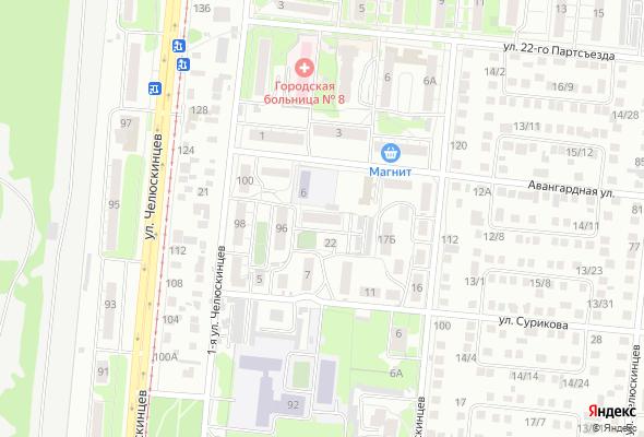 купить квартиру в ЖК Дом на Сурикова