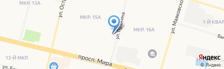 Детская стоматологическая поликлиника на карте Сургута