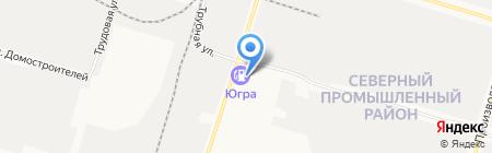 Дуэт на карте Сургута