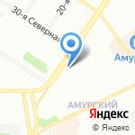 КУХНИпрестиж на карте Омска