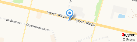 Golden Style на карте Сургута