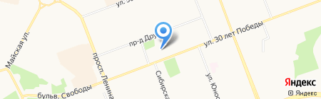 Afina на карте Сургута