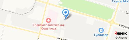 Ремдизель на карте Сургута