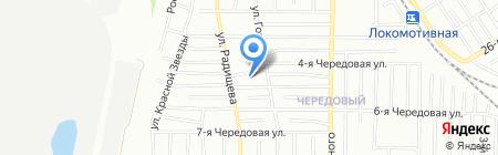 Эдем на карте Омска