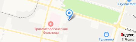 Мамочка на карте Сургута