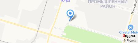 Пункт технического осмотра на карте Сургута