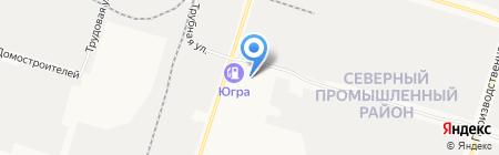 Грин Хит Рус на карте Сургута