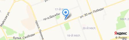 Ханты-Мансийский банк Открытие на карте Сургута