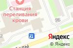 Схема проезда до компании Солнышко в Сургуте