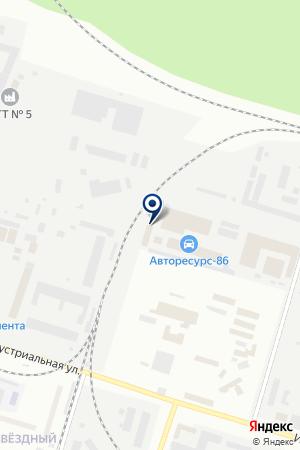 АК - Первая Аккумуляторная Компания на карте Сургута
