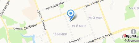 Экстрим на карте Сургута