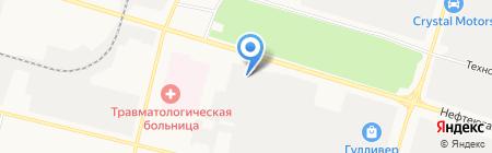 Мир инструмента на карте Сургута