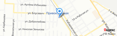 Общежитие на карте Омска