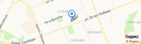 МТС на карте Сургута