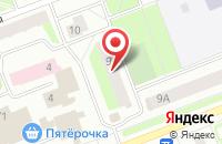 Схема проезда до компании Сургут Экспресс в Сургуте