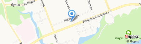 Сат Нам на карте Сургута