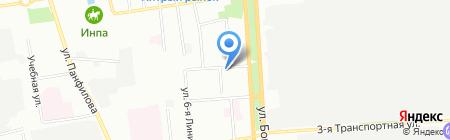 Чаровница на карте Омска