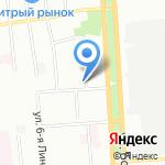 Бомонд на карте Омска