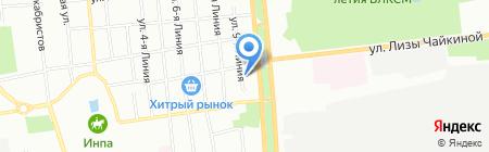Стратег на карте Омска