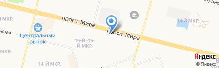 Банкомат Газпромбанк на карте Сургута