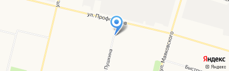 Продукты на карте Сургута