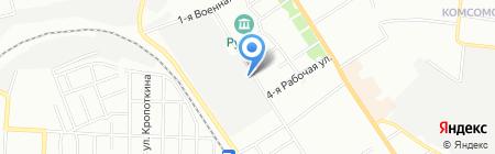 Полет-Агрострой на карте Омска