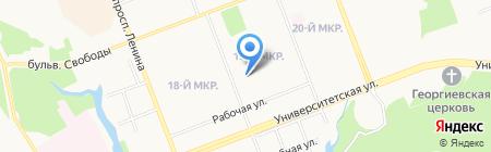 Женская консультация на карте Сургута