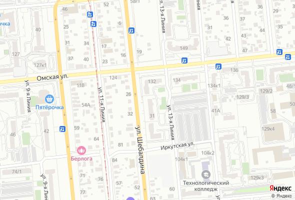 жилой комплекс На Омской