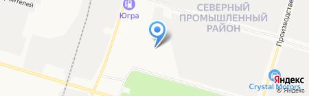 Многофункциональный центр на карте Сургута