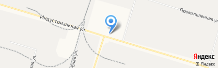 Лечебно-исправительное учреждение №17 на карте Сургута