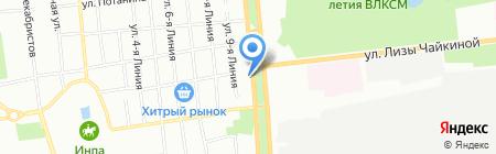 Забота на карте Омска