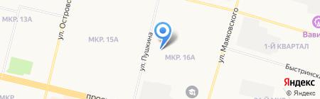 Абсолют-Про на карте Сургута