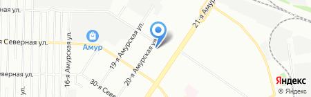 ФорДА на карте Омска