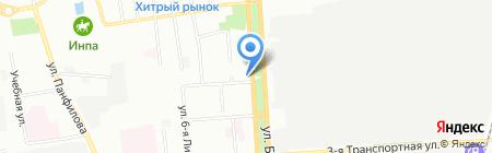Даром на карте Омска