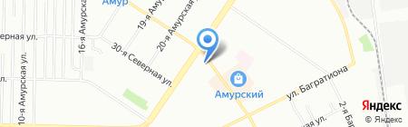 585 на карте Омска