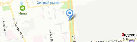 Фармакопейка на карте Омска