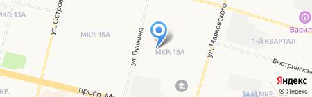 Романтик на карте Сургута