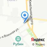 Селена на карте Омска